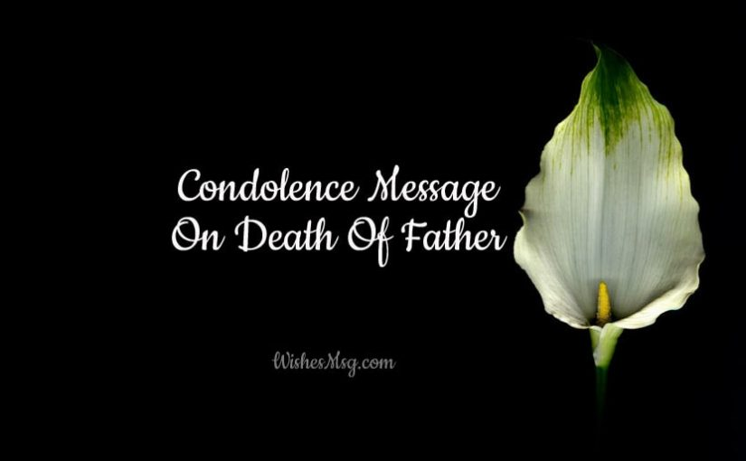Condolence-Message-On-Death-Of-Father