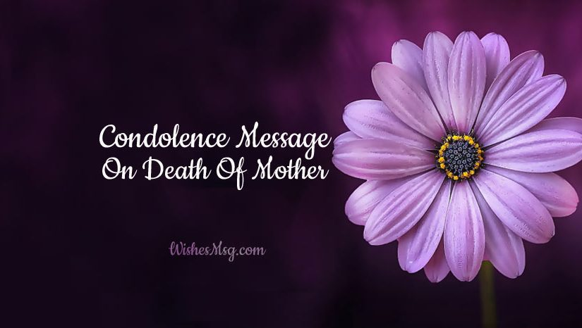 Condolence-Message-On-Death-Of-Mother