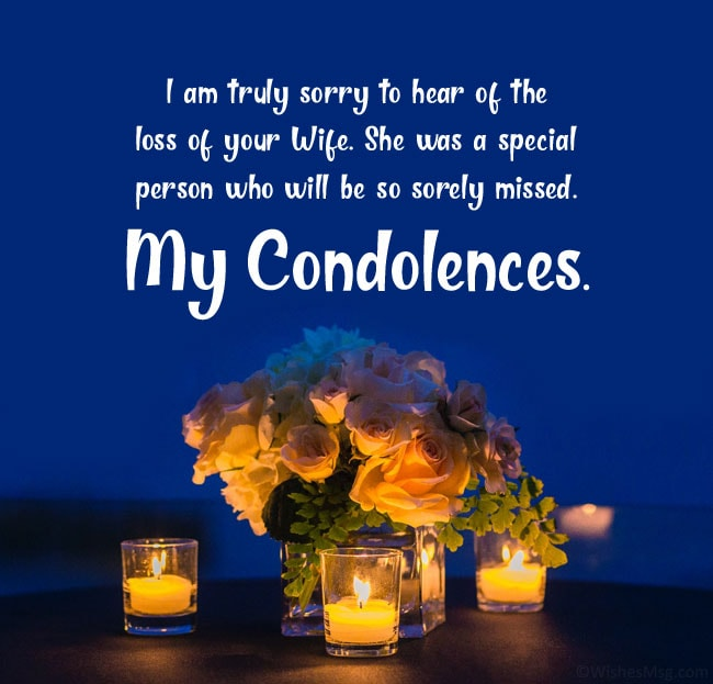 Condolence-messages-for-loss-of-wife