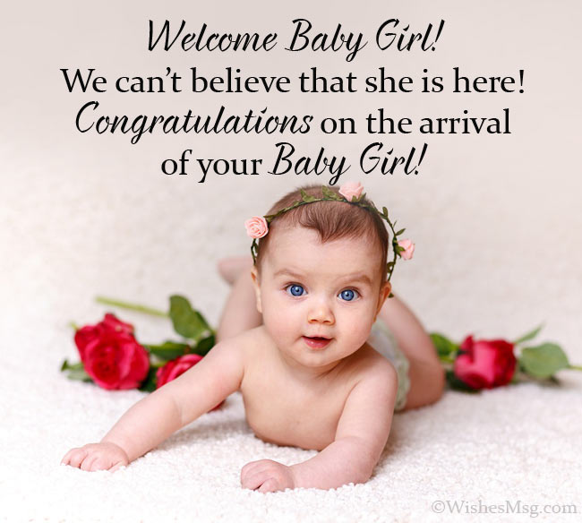 Congratulation Wishes for New Baby Girl