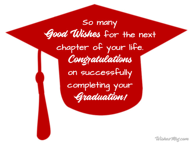 Graduation Congratulations Messages