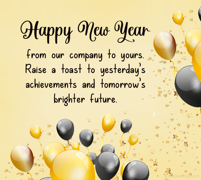 Corporate New Year Wishes Messages