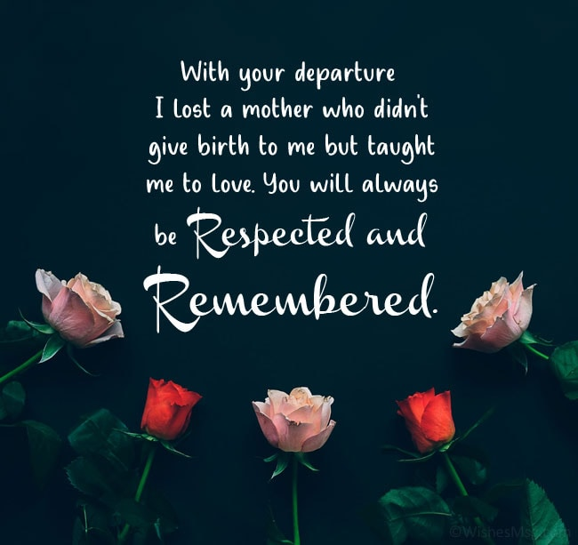 Death Anniversary Message For Friend's Mother