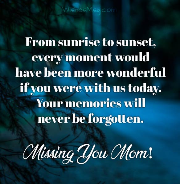 Death Anniversary Messages For Mother - Remembrance Quotes