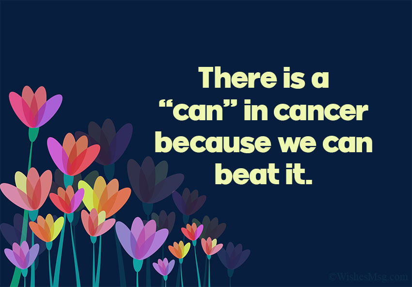 Message for Cancer Patient