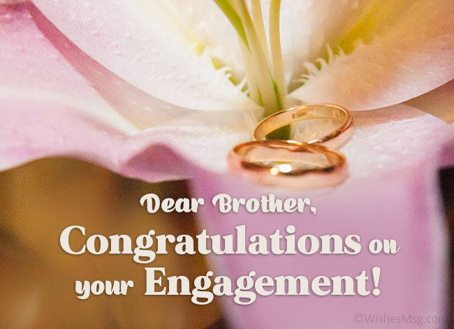 Engagement-Congratulation-message-for-Brother