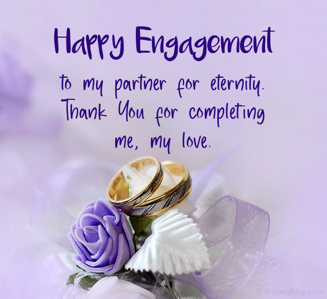 Engagement Wishes for Fiance & Fiancee
