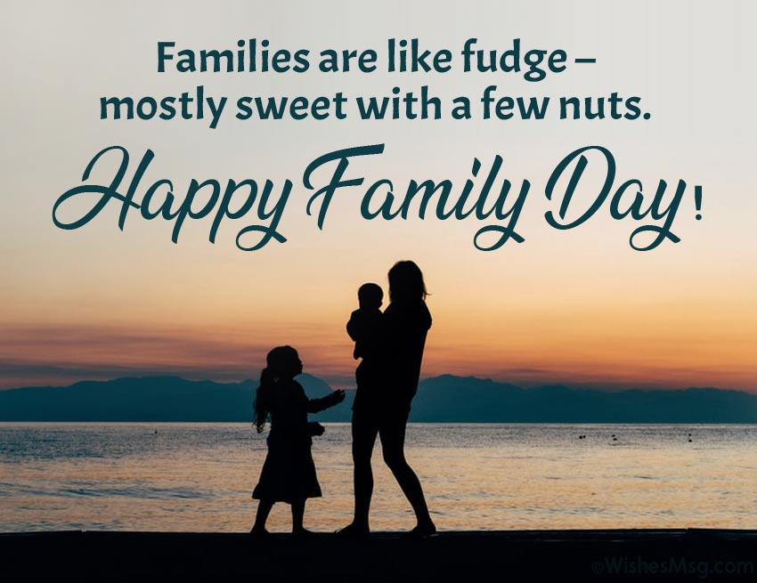 Funny Family Day Quotes