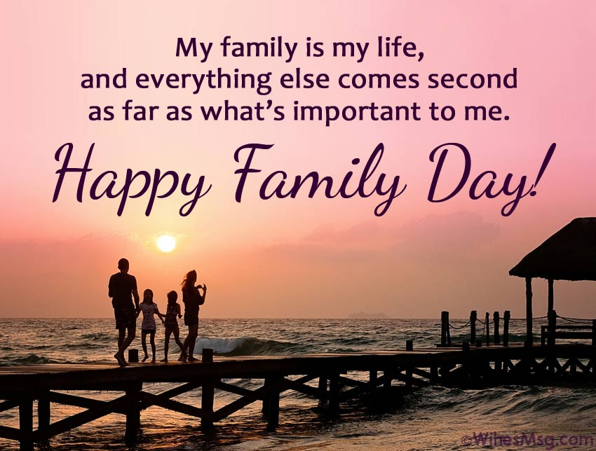Greetings for Family Day