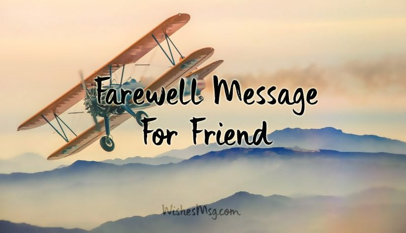 Farewell-Message-To-A-Friend-Going-Abroad