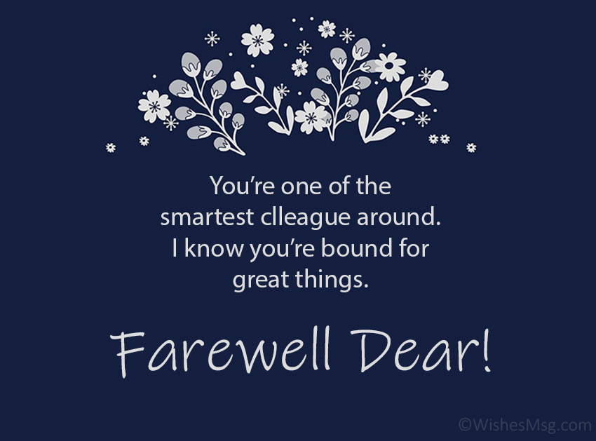 Farewell Quotes for Colleague