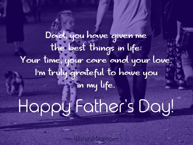 90+ Best Father's Day Wishes and Messages - WishesMsg