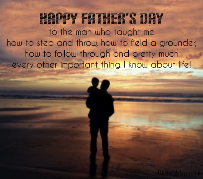 Father's Day Wishes From Son