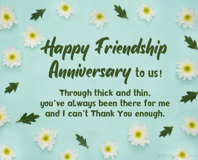 Friendship Anniversary Quotes