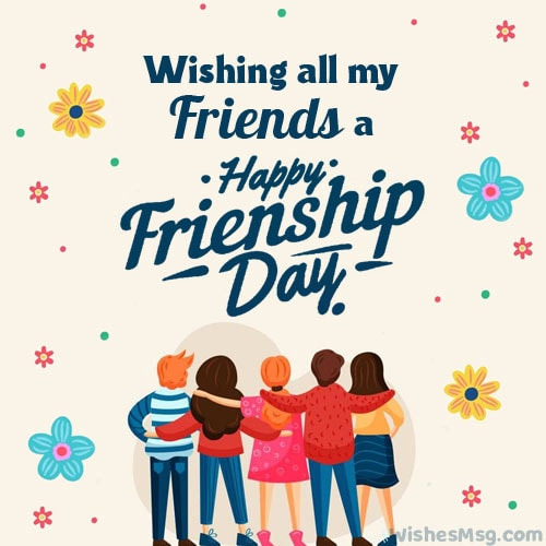 Friendship Day Wishes For All Friends