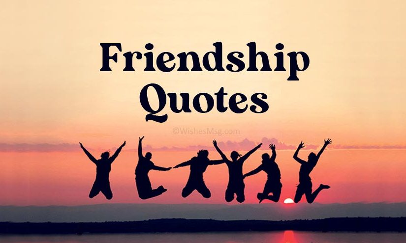 65 Friendship Quotes For You and Your Friends