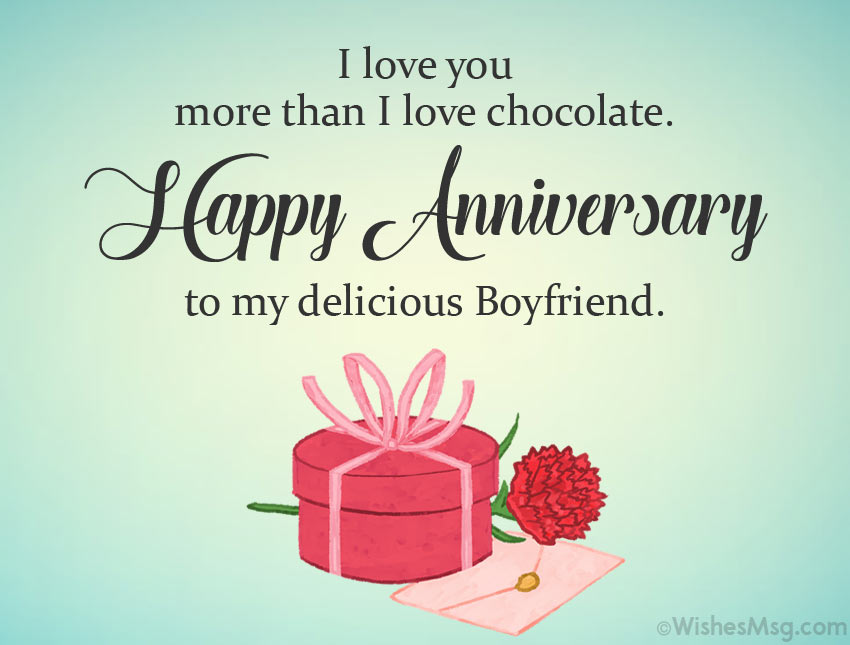 Funnny Anniversary Message for Him