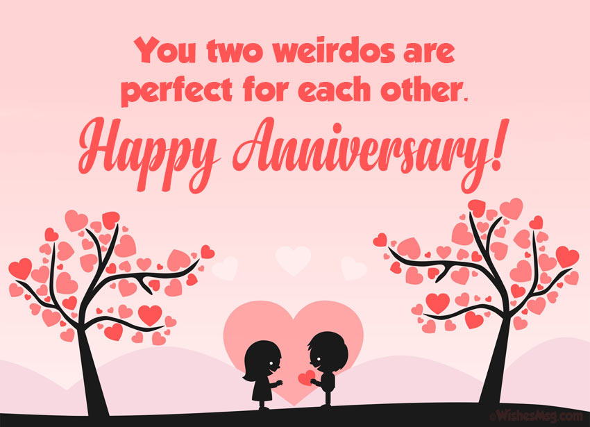 Wedding Anniversary Messages for Couple