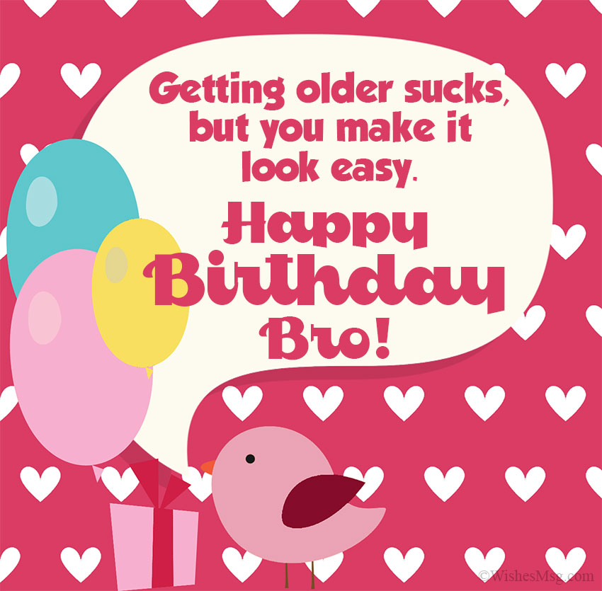 Super 200 Birthday Wishes For Brother Happy Birthday Brother Wishesmsg Personalised Birthday Cards Paralily Jamesorg