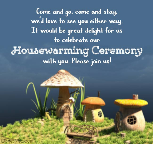Funny Housewarming Invitation Wording