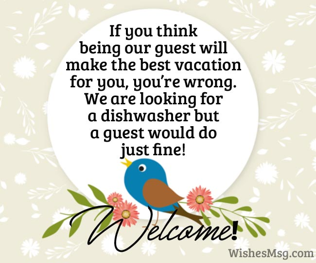 Welcome Messages Best Welcome Message Examples Wishesmsg