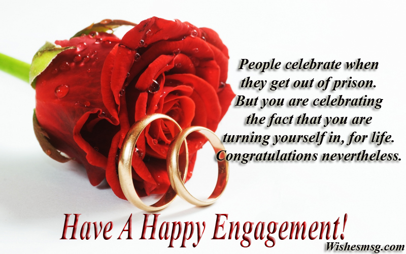 Best engagement wishes congratulations messages wishesmsg funny engagement wishes and messages m4hsunfo
