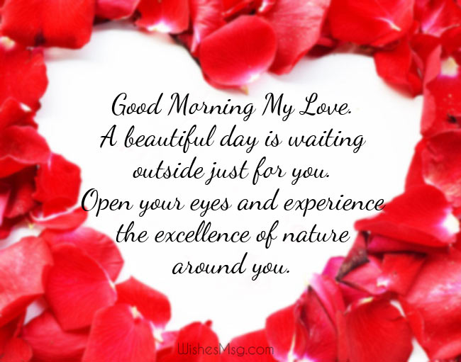 100 Good Morning Love Messages Romantic Wishes Wishesmsg