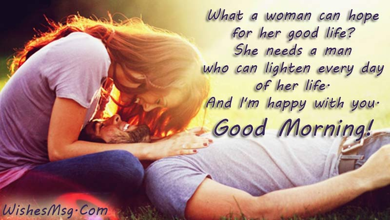 Good Morning Message For Husband - Sweet and Romantic