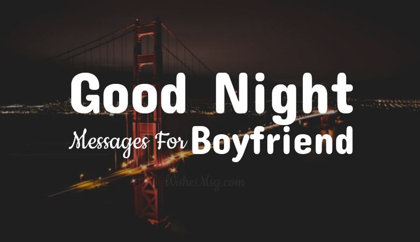 Good Night Messages For Boyfriend – Romantic Texts for Him