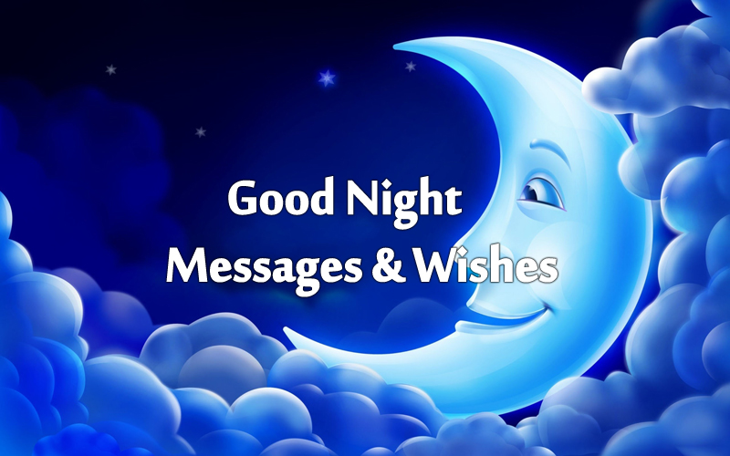 good night messages wishes