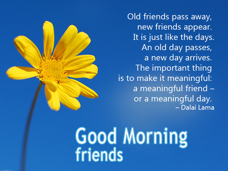 Good Morning My Friend Quotes: Good Morning Message For Friends