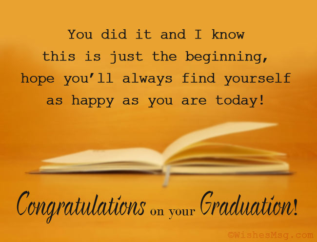 Congratulations Graduation Quotes
