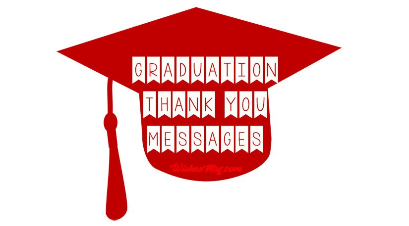 Graduation Thank You Messages