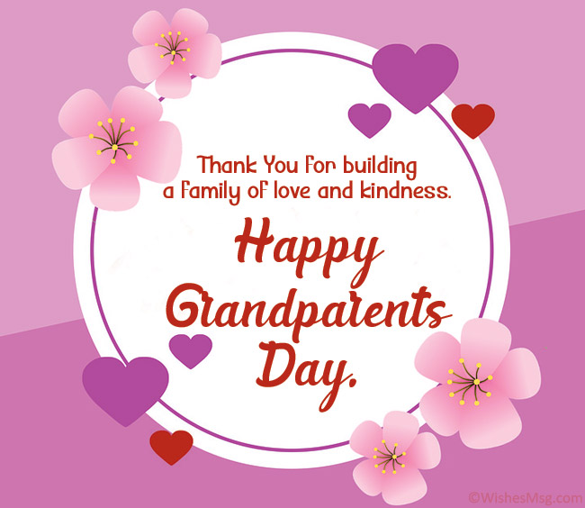 Grandparent's Day Messages