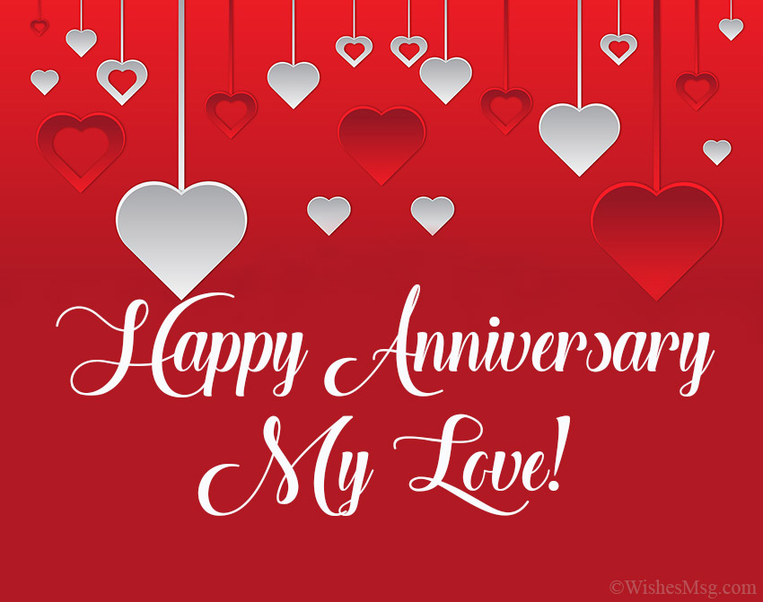 200 Wedding Anniversary Wishes And Messages Wishesmsg