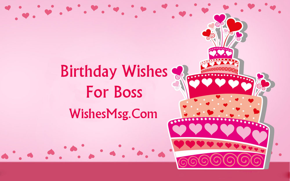 Birthday wishes for boss formal and funny messages wishesmsg m4hsunfo
