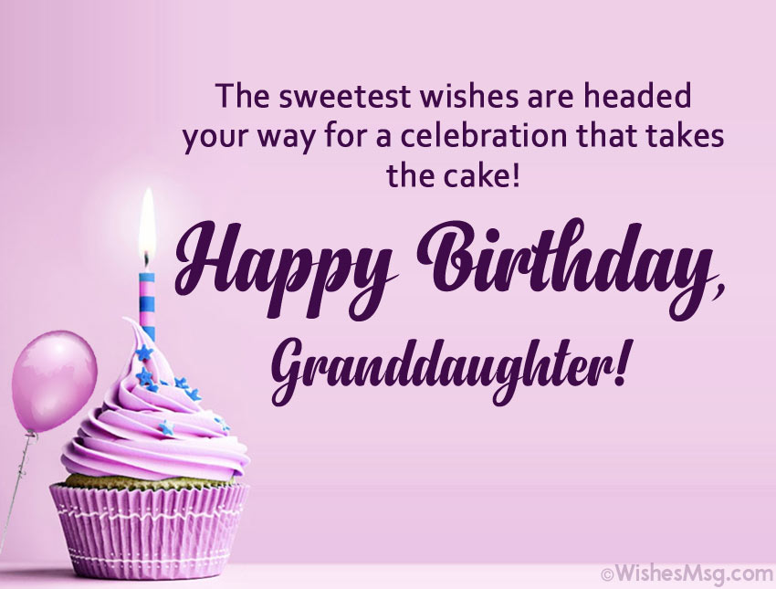 Happy Birthday Granddaughter Card Messages
