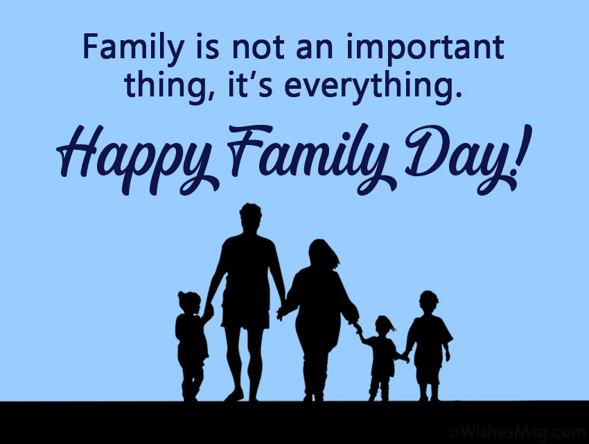 Messages for Family Day