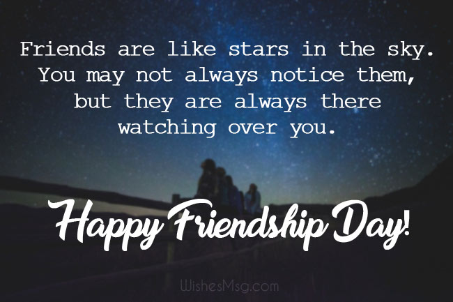 Friendship Day Wishes, Messages and Quotes (2019) - WishesMsg