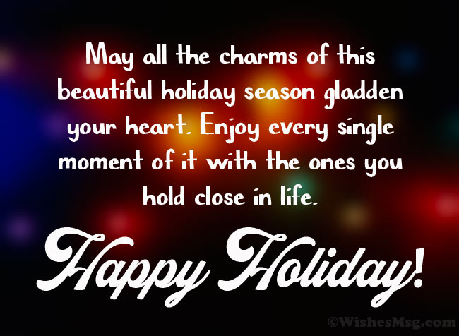 Best Wishes for Holiday