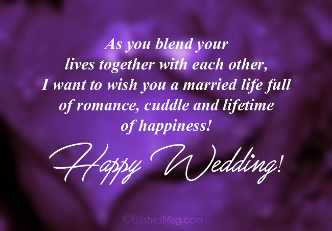 Best Wedding Wishes