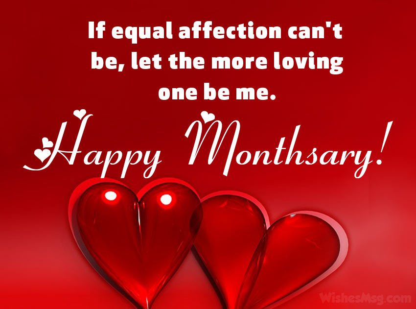 Heart Touching Monthsary Message for GF