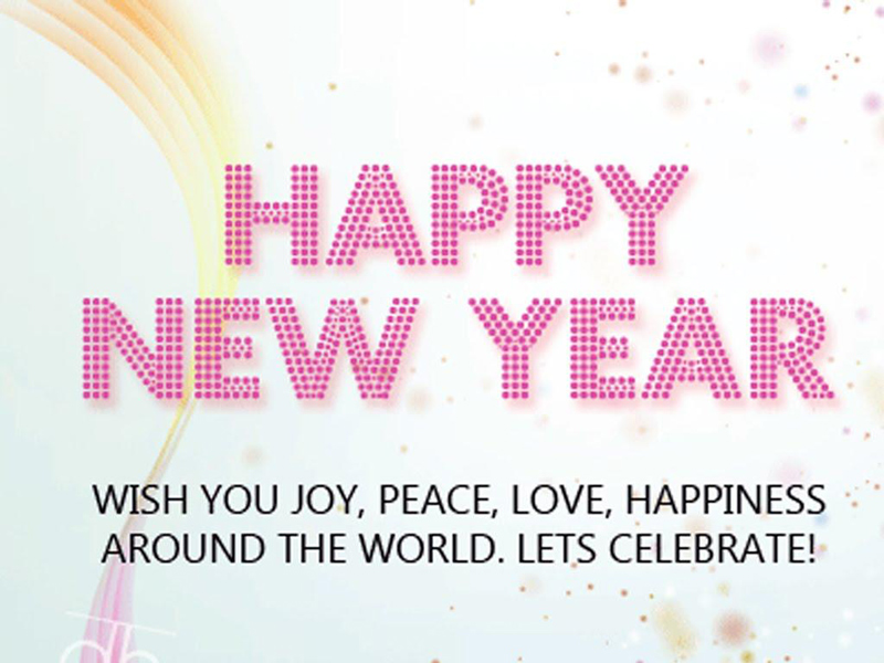 Best Happy New Year Messages and Wishes for 2018 - WishesMsg