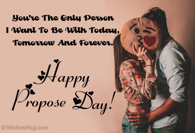 Best Propose Day Messages