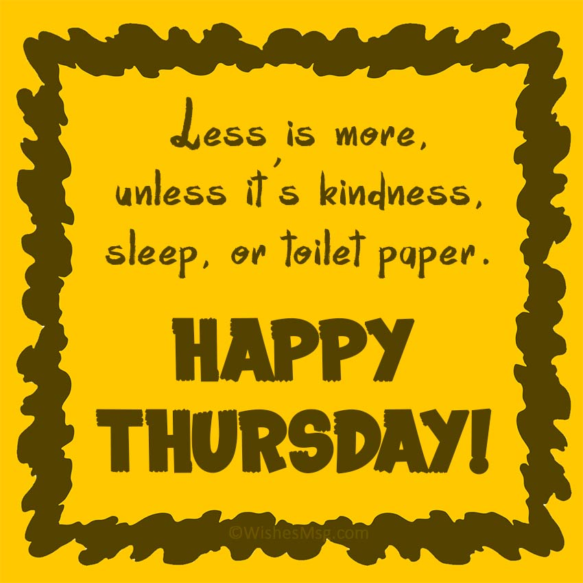 Happy Thursday Quotes Funny