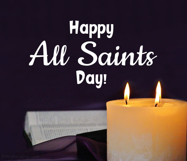 Happy all saints day