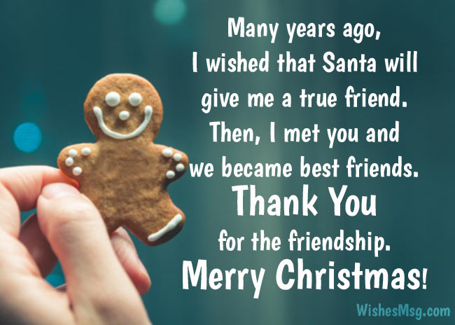 Heartfelt Christmas Wishes for Friends