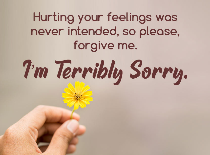 sorry message for best friend