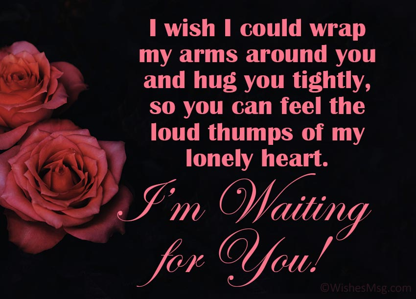 Waiting for You Messages for Her