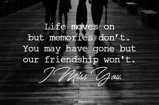 I Miss You Messages for Friends After Death
